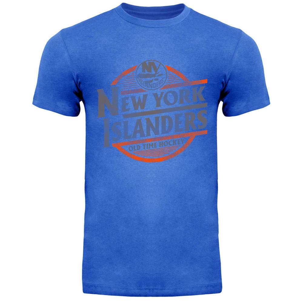 NEW YORK ISLANDERS Men's Coil Short-Sleeve Tee - ROYAL BLUE