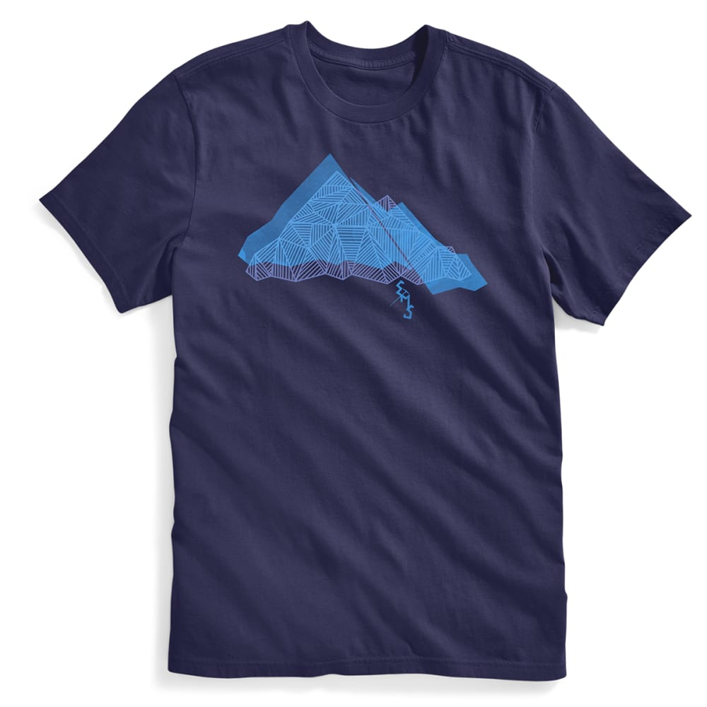 Ems(R) Men's Geo Summit Graphic Tee - Blue, S