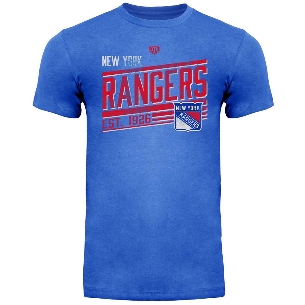 NEW YORK RANGERS Men's Ramp Short Sleeve Tee - ROYAL BLUE