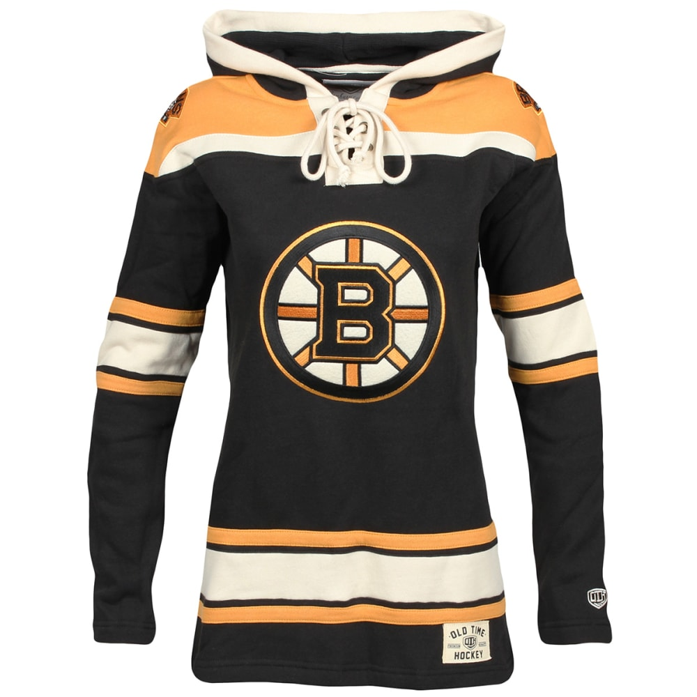 BOSTON BRUINS Women's Lacer Pullover Hoodie - BLACK