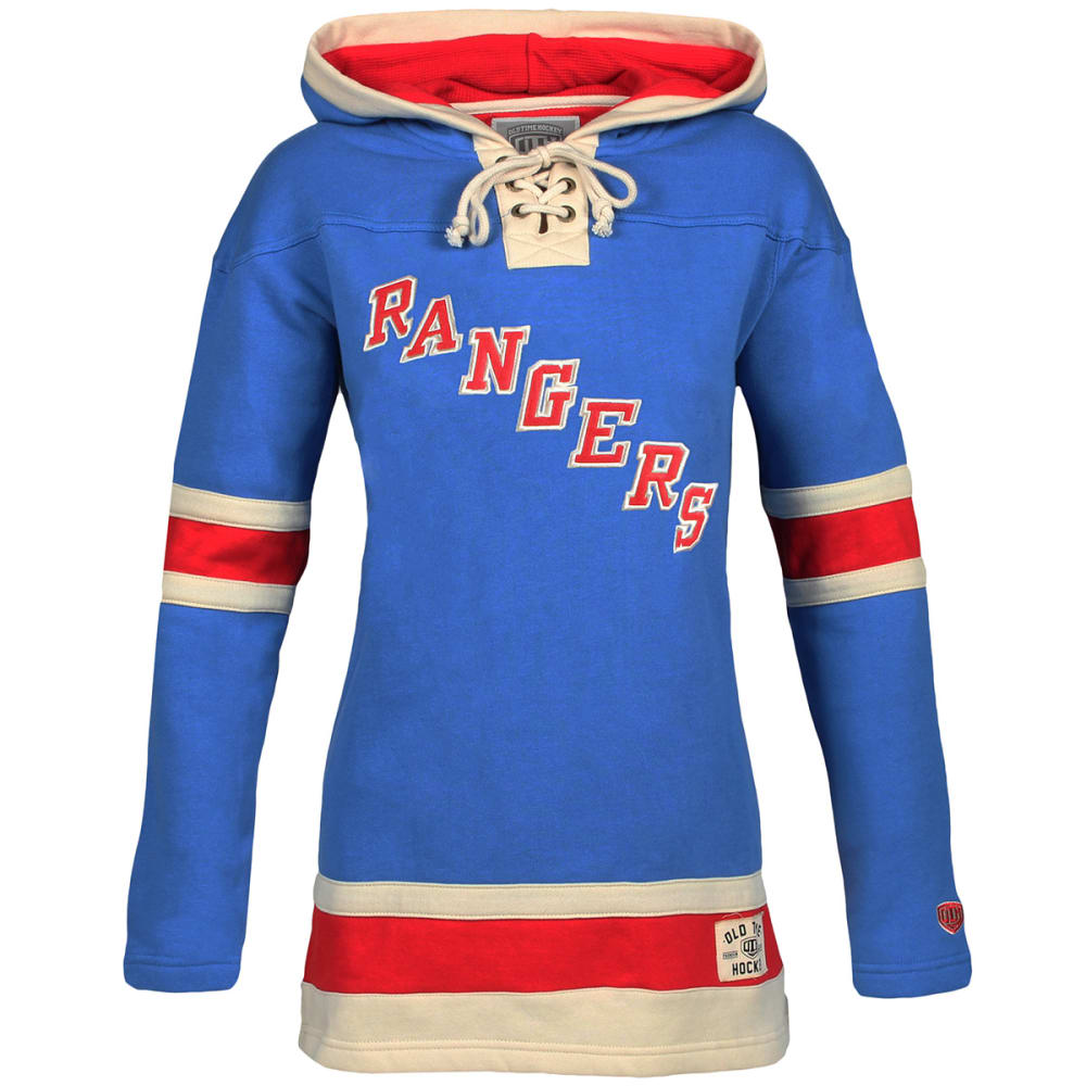 NEW YORK RANGERS Women's Lacer Pullover Hoodie - ROYAL BLUE