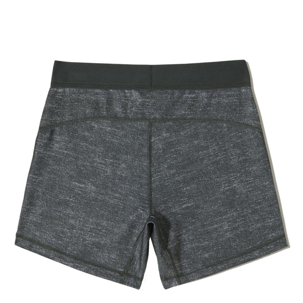 """ADIDAS Women's 5"""" Compression Shorts - DARK GRY HTHR-D88874"""
