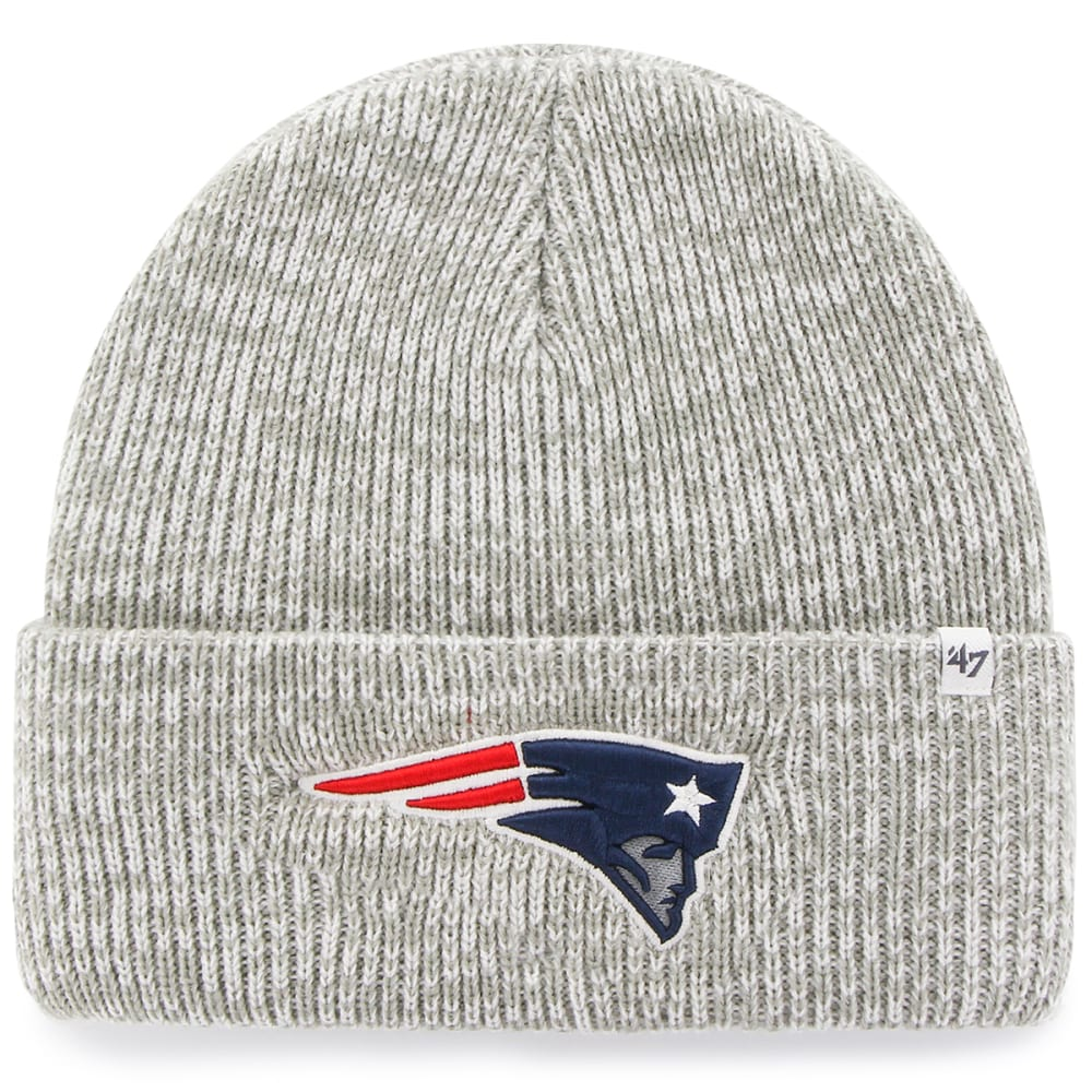 NEW ENGLAND PATRIOTS Men's Brain Freeze CFD Beanie - GREY