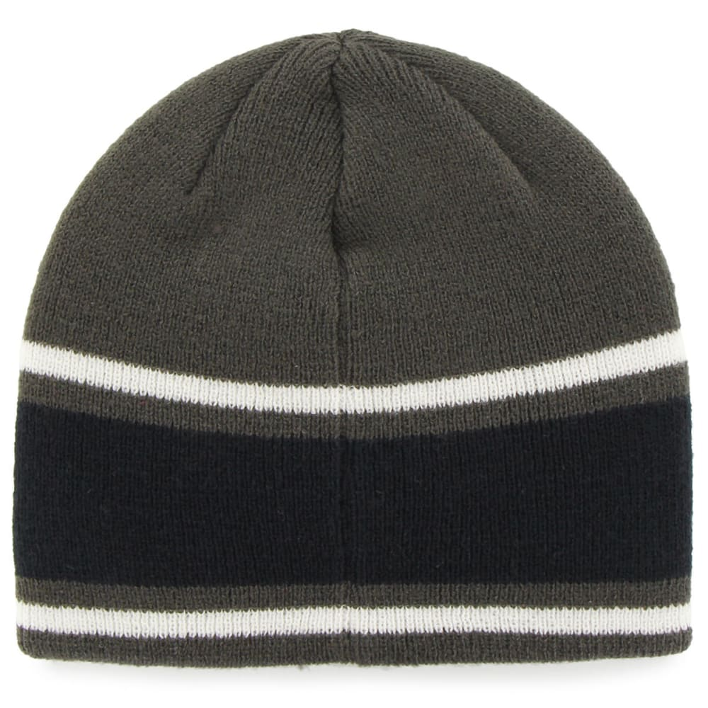 NEW ENGLAND PATRIOTS Men's Quincy Pat Beanie - NAVY/CHARCOAL