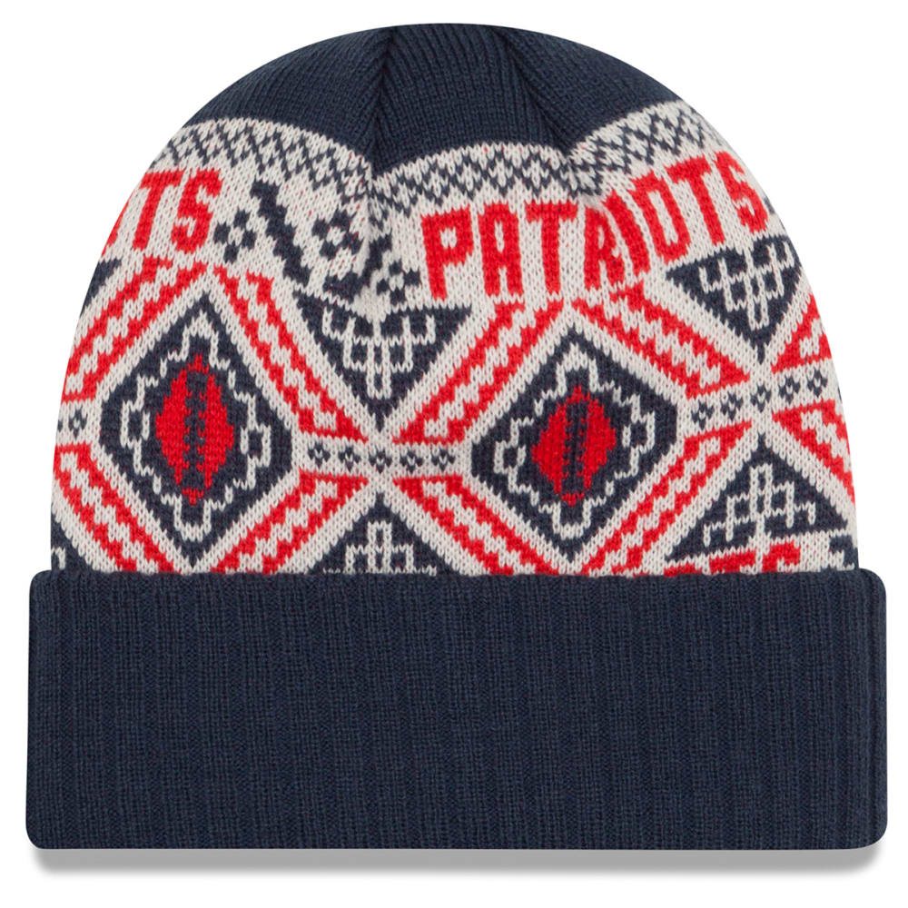 NEW ENGLAND PATRIOTS Cozy Cuff Beanie - NAVY