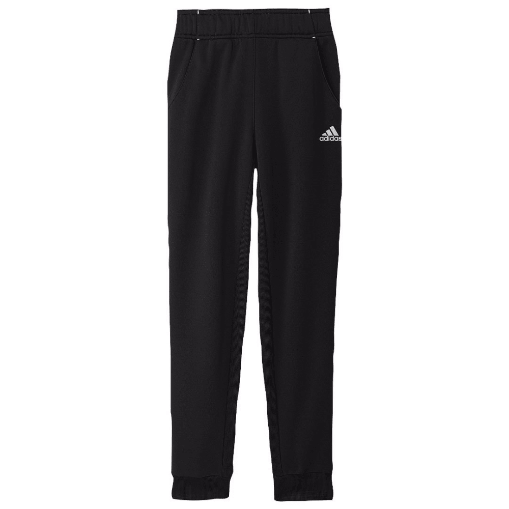 ADIDAS Girls' Tech Fleece Pants - BLACK/WHT-A82