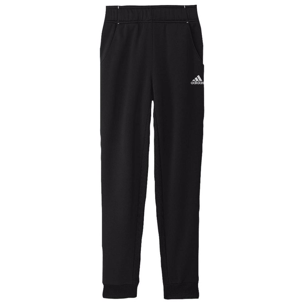 ADIDAS Girls' Tech Fleece Pants - BLACK/WHT-A82