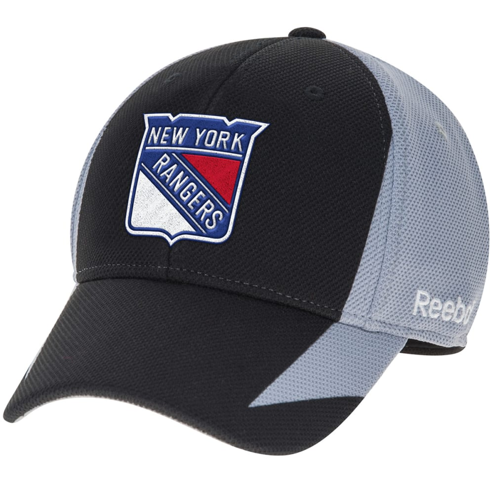 NEW YORK RANGERS Men's Practice Adjustable Snapback Cap - BLACK/GREY