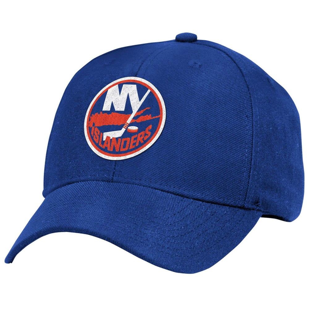NEW YORK ISLANDERS Men's Structured Adjustable Cap - ROYAL BLUE