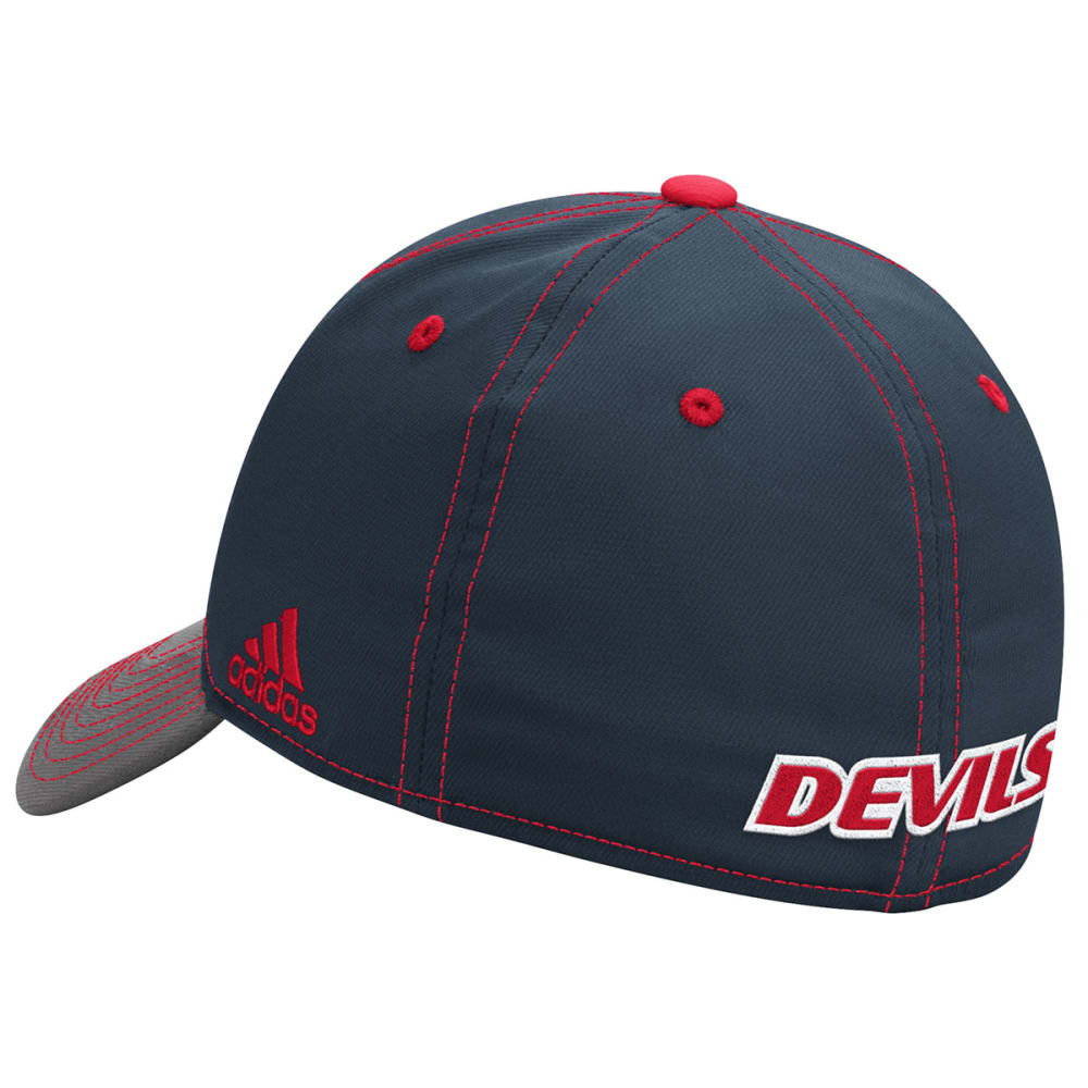ADIDAS NEW JERSEY DEVILS Men's 2-Tone Stretch Flex Hat - GREY