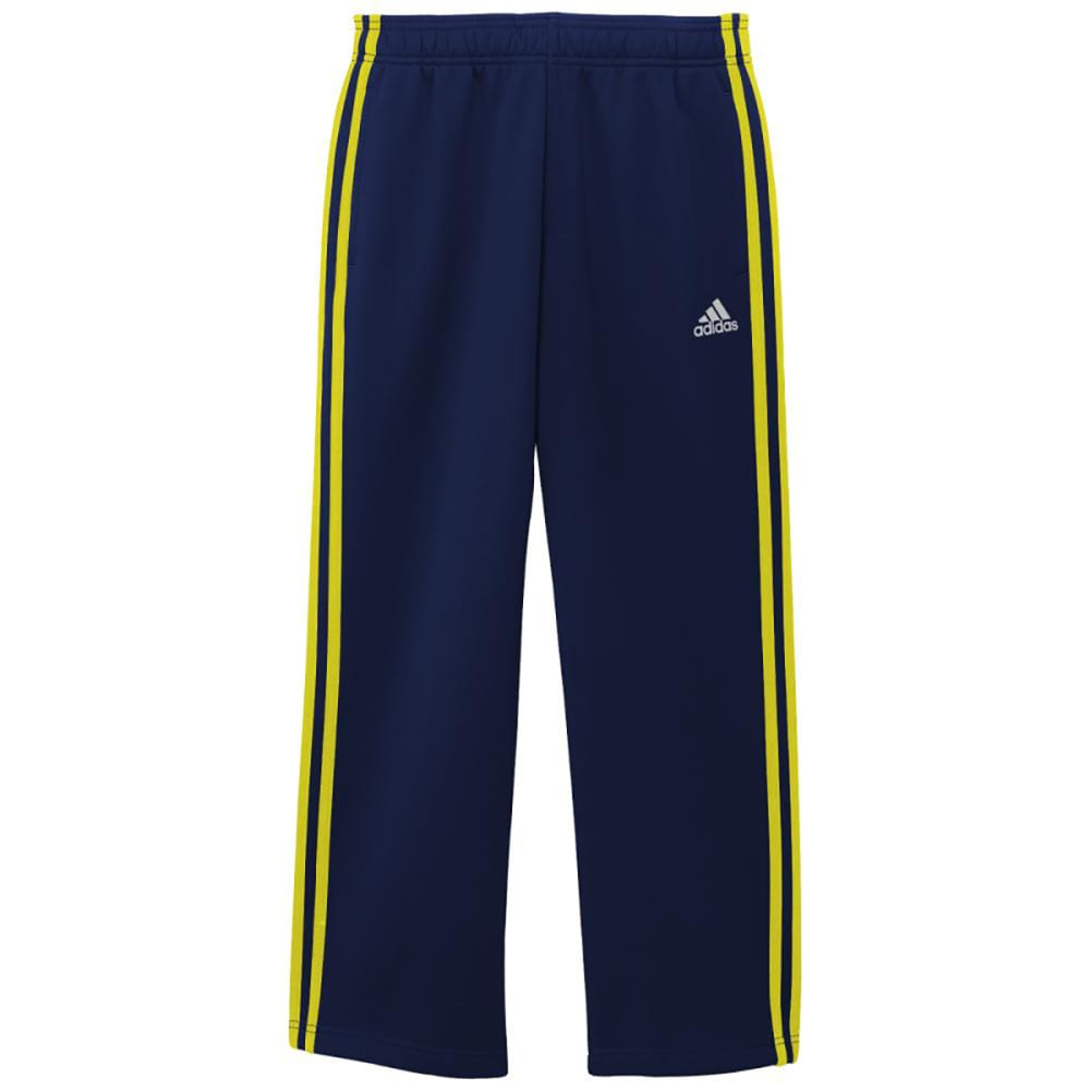 ADIDAS Boys' Tech Fleece Pants - NAVY/LIME-ATB