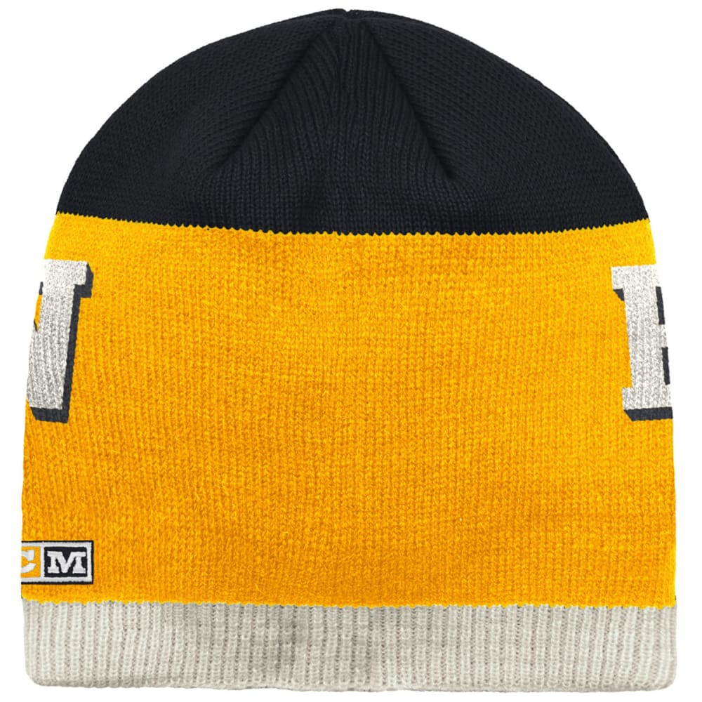 BOSTON BRUINS CCM Beanie - YELLOW/BLACK
