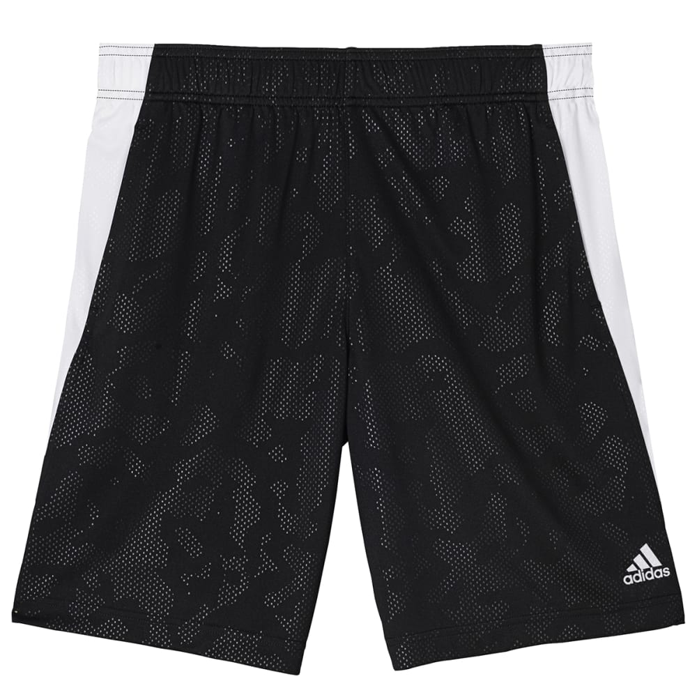 Adidas Boys Breezy Base Shorts - Black, M