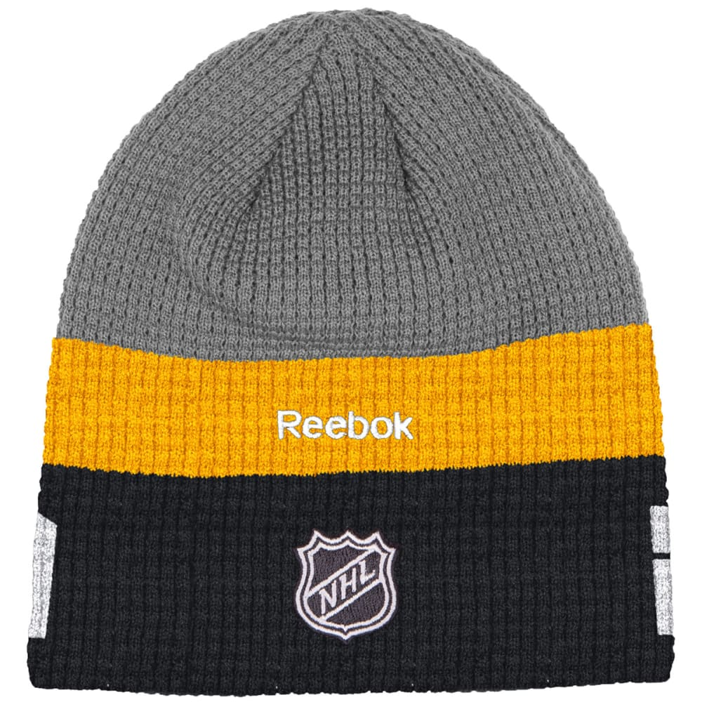 REEBOK BOSTON BRUINS Men's Beanie - GREY/BLACK