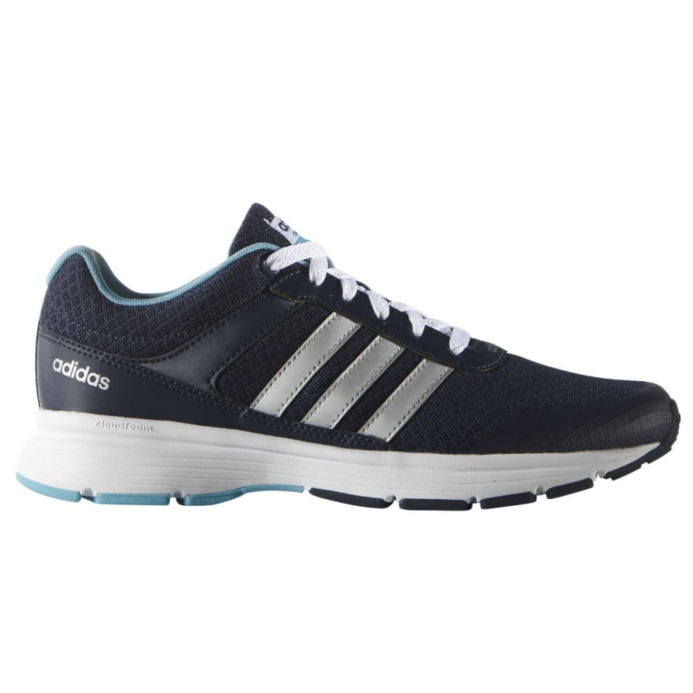 Adidas Women's Neo Cloudfoam Vs City - Blue, 9.5