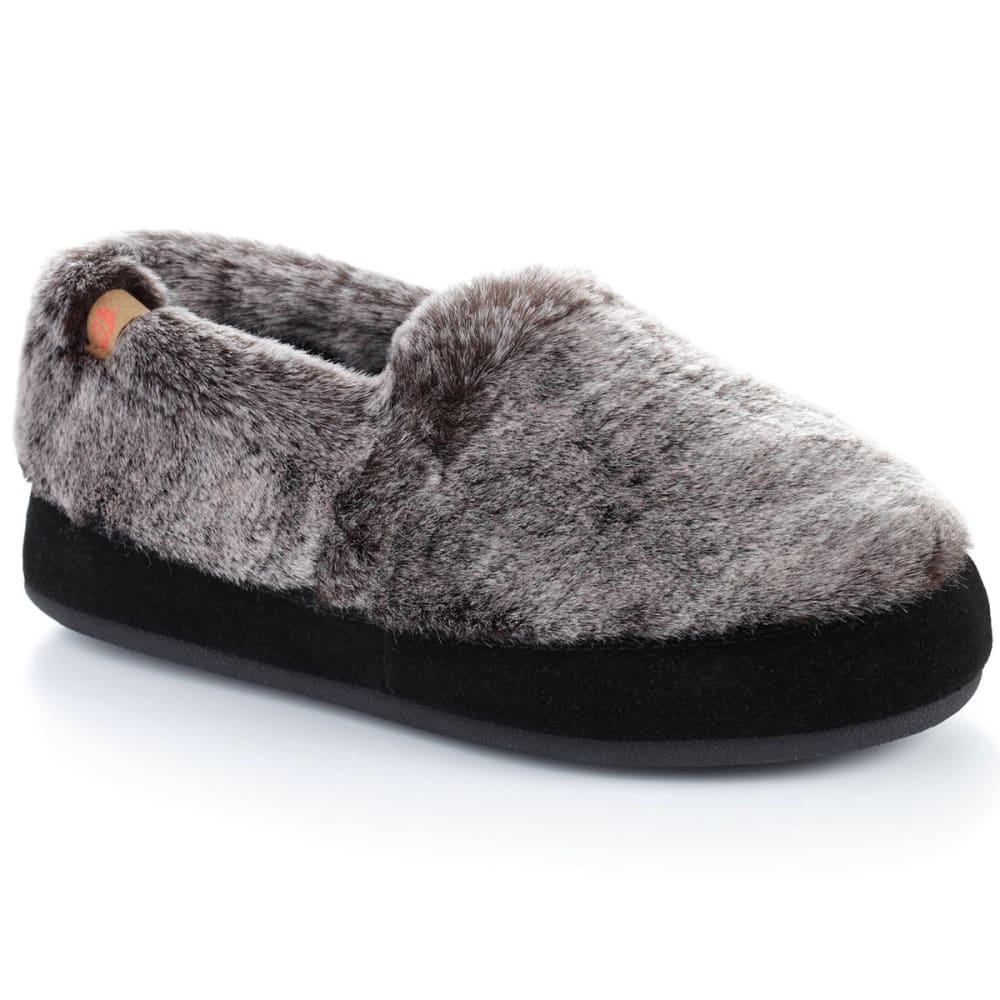 ACORN Women's Moc Shoes, Chinchilla S
