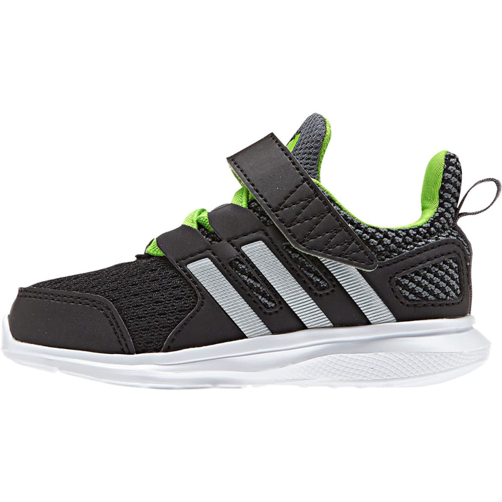 ADIDAS Toddler Boys' Hyperfast 2.0 EL K Shoes - BLACK