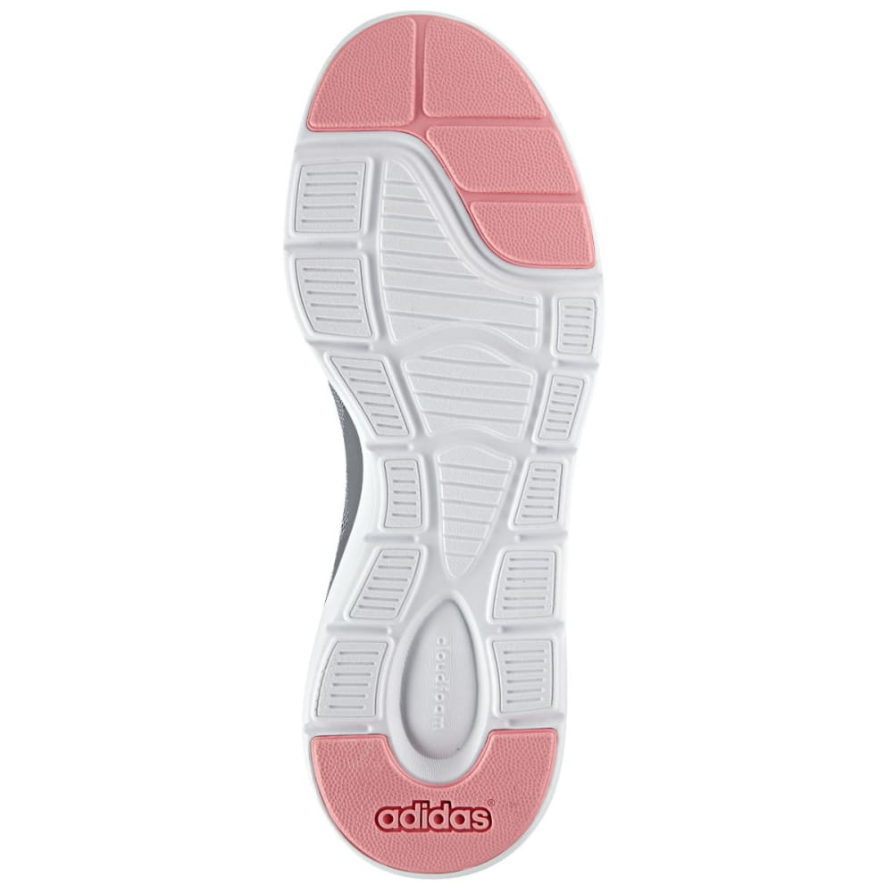 ADIDAS Women's Neo Cloudfoam Xpression Shoes - GREY/WHITE/RAY PINK
