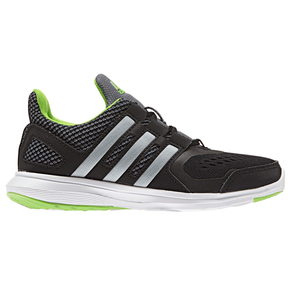 Adidas Boys Hyperfast 2.0 El K Shoes, Wide - Black, 11
