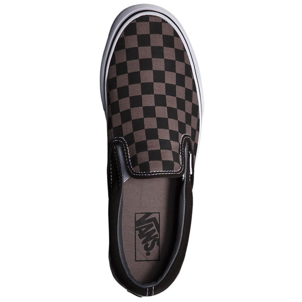 VANS Men's Classic Slip-On Shoes - BLACK