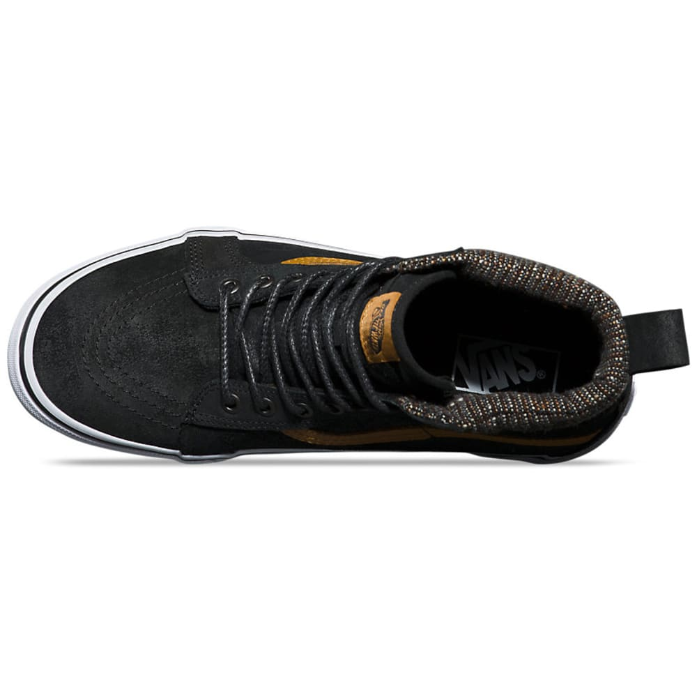 VANS Men's Sk8-Hi MTE Skate Shoes - BLACK