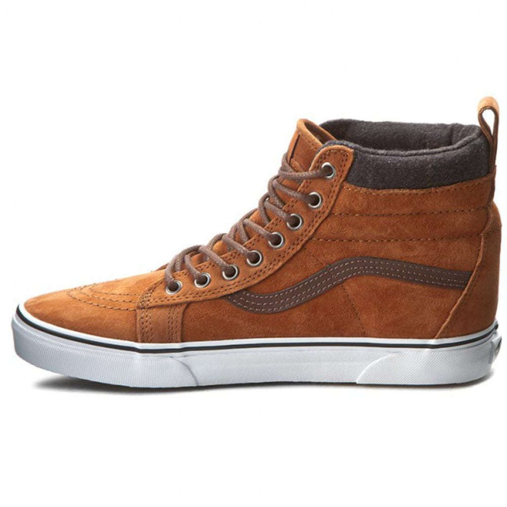 VANS Men's Sk8-Hi MTE Skate Shoes - CAMEL