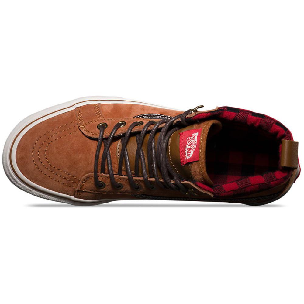 VANS Men's Sk8-Hi MTE Skate Shoes - CAMEL