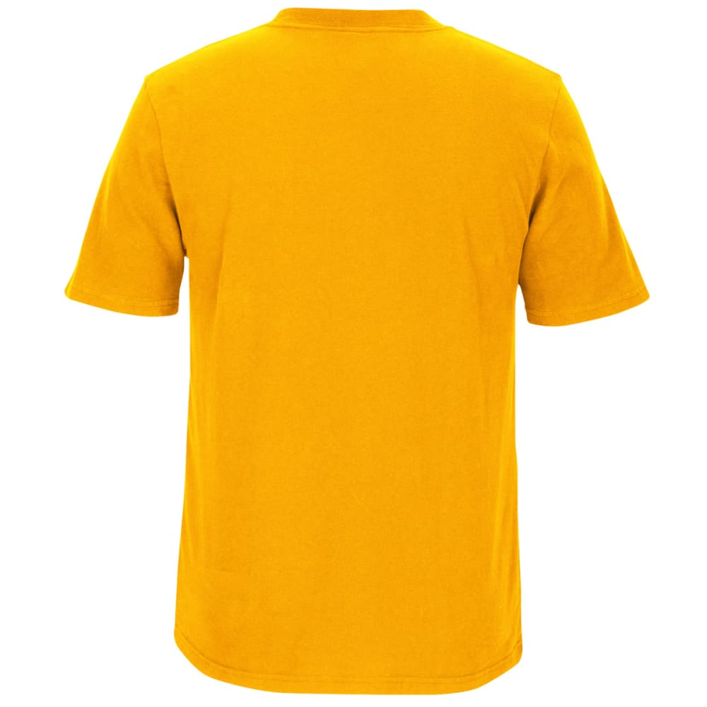BOSTON BRUINS Men's CCM Current Logo Short-Sleeve Tee - YELLOW