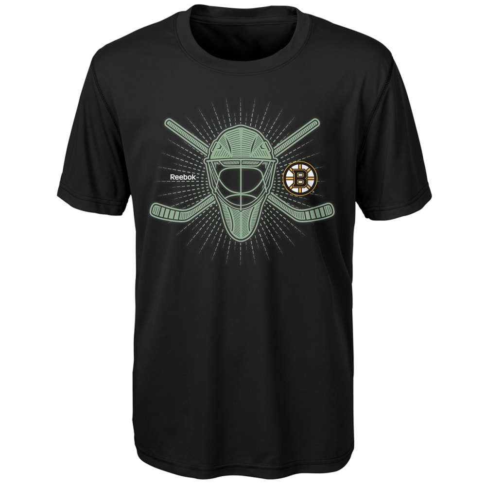 BOSTON BRUINS Boys' To the Bone Short-Sleeve Tee - BLACK