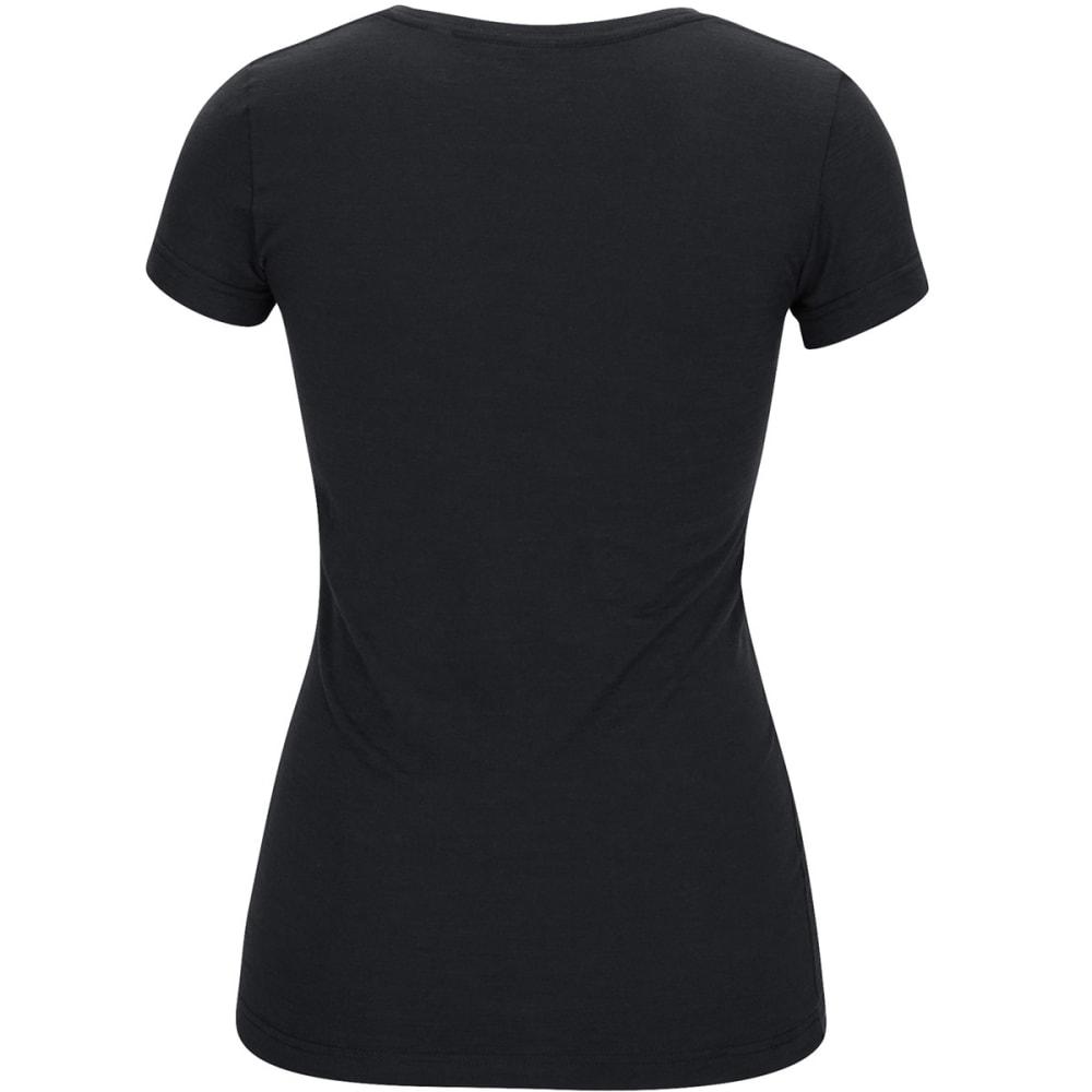 BOSTON BRUINS Women's Full Color Short-Sleeve Tee - BLACK