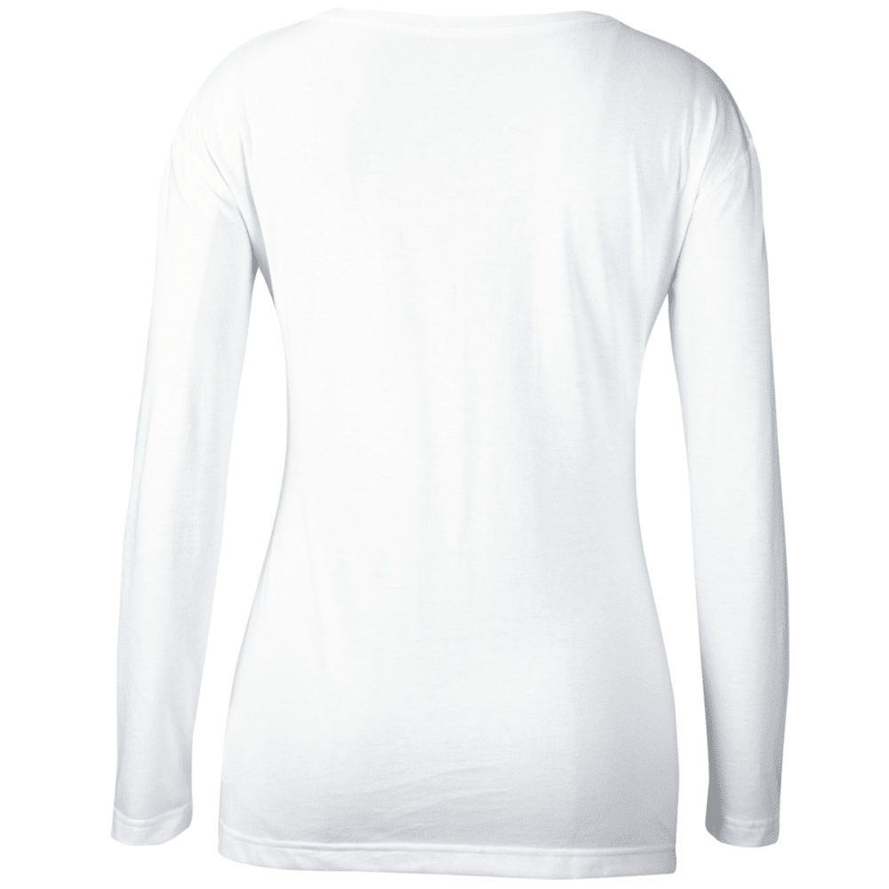 ADIDAS Women's Boston Bruins Team Skate Long-Sleeve Tee - WHITE