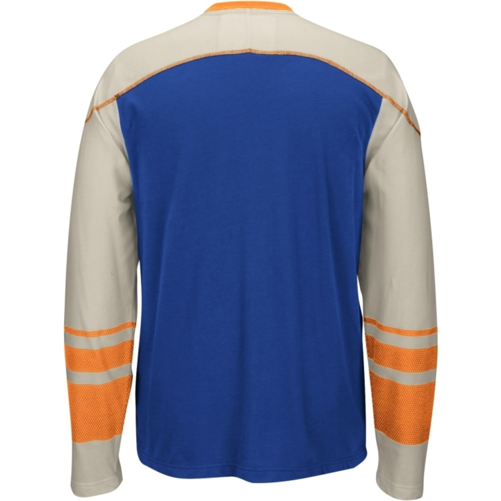 NEW YORK ISLANDERS Men's CCM Long Sleeve Tee - ROYAL BLUE