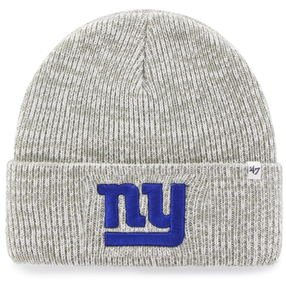 NEW YORK GIANTS Men's Brain Freeze Cuffed Beanie - GREY