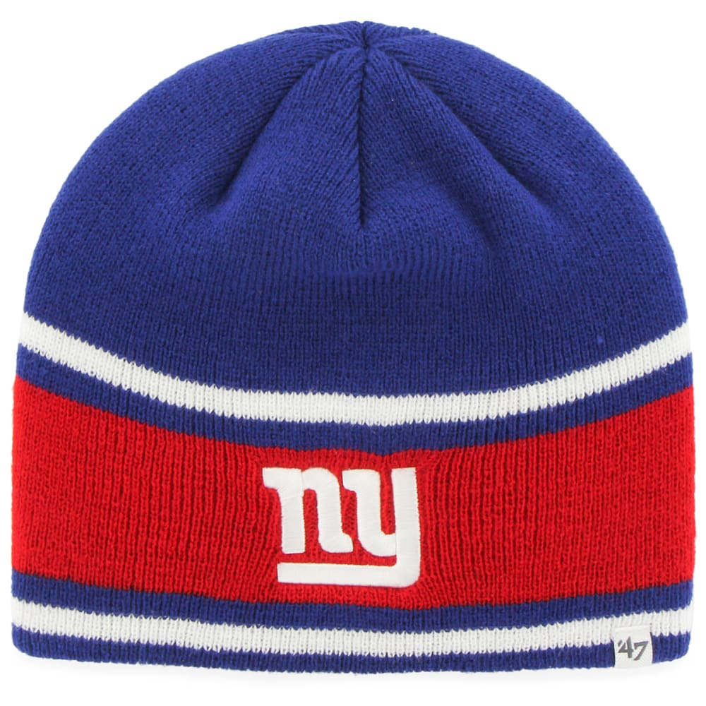 NEW YORK GIANTS Men's Quincy Beanie - ROYAL BLUE /RED