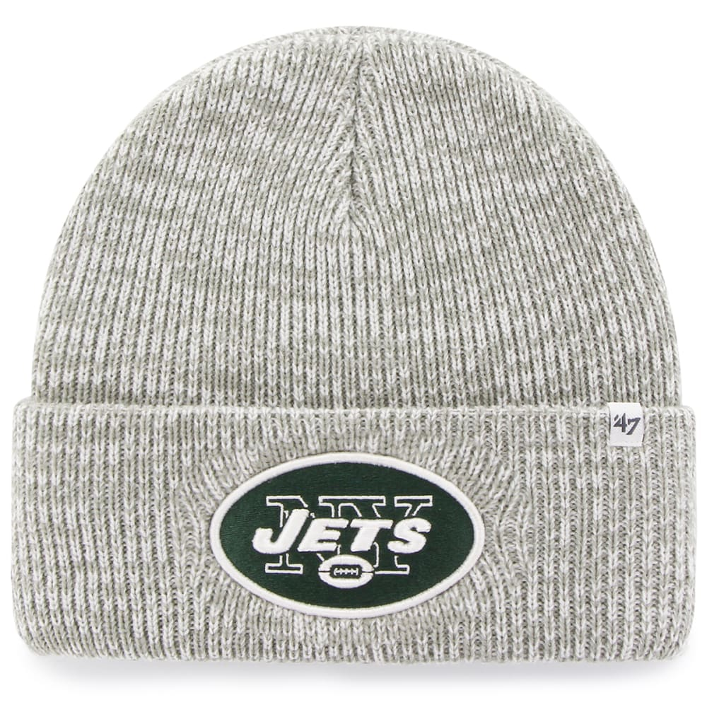 NEW YORK JETS '47 Brain Freeze Cuff Knit Beanie - GREY