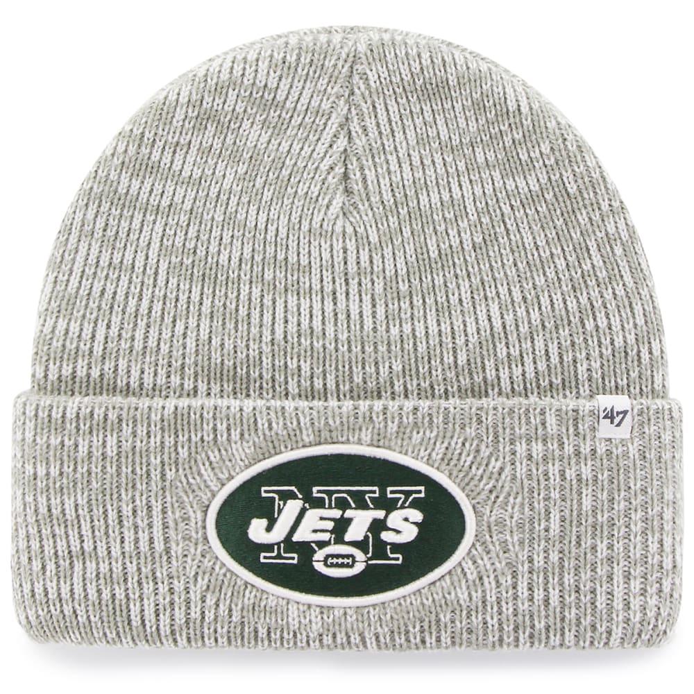 NEW YORK JETS '47 Brain Freeze Cuff Knit Beanie - GREY