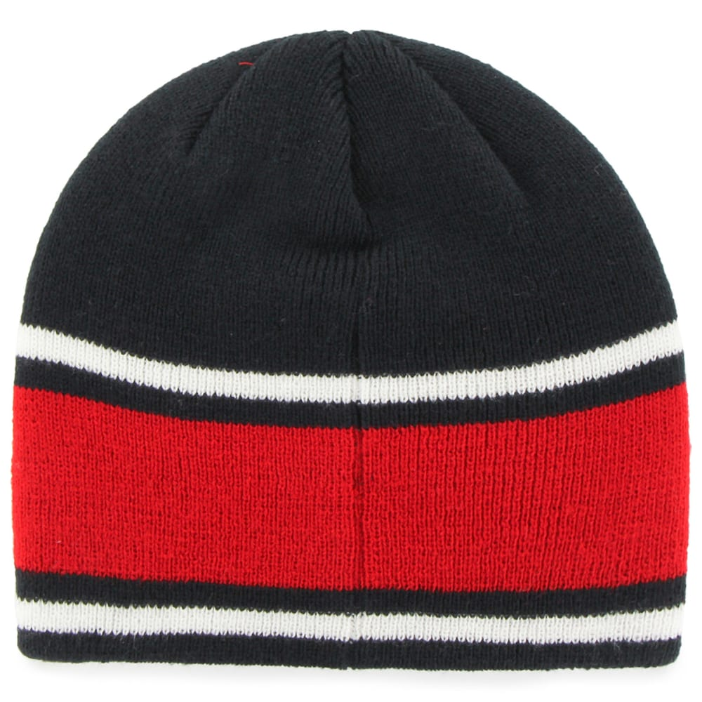 BOSTON RED SOX '47 Quincy Knit Beanie - NAVY/RED