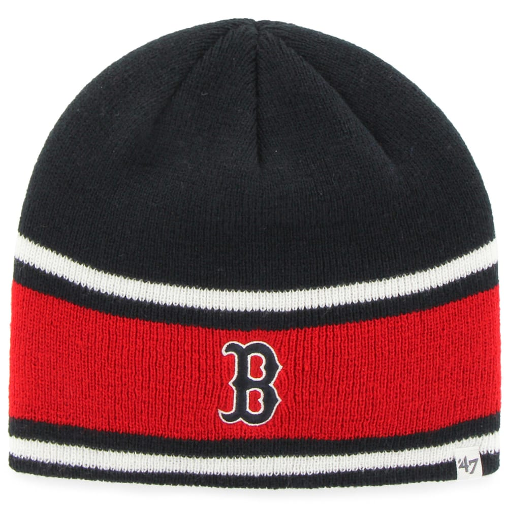 BOSTON RED SOX Quincy Beanie - NAVY/RED