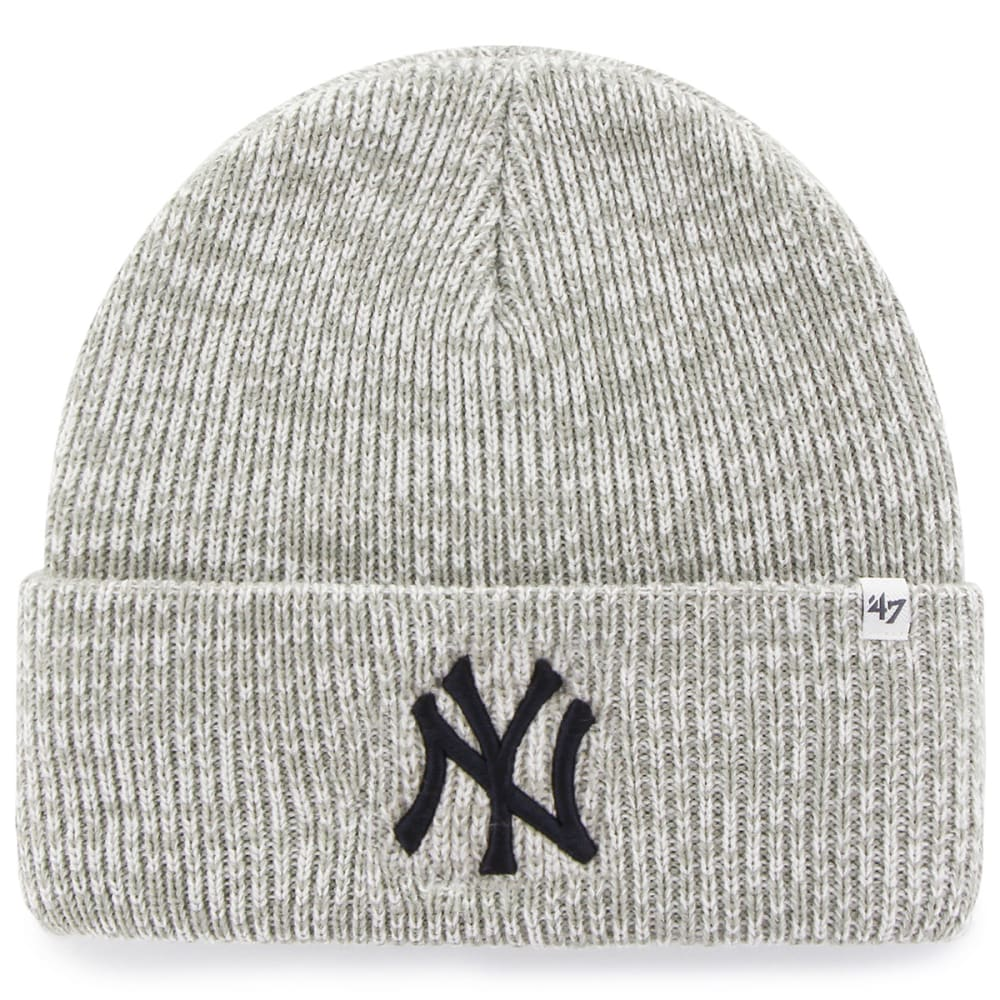 NEW YORK YANKEES '47 Brain Freeze Cuff Knit Beanie - GREY