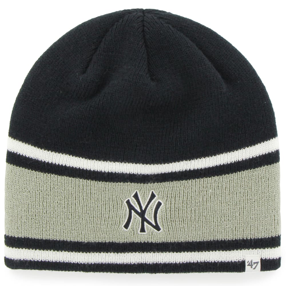 NEW YORK YANKEES Quincy Beanie - NAVY/GREY