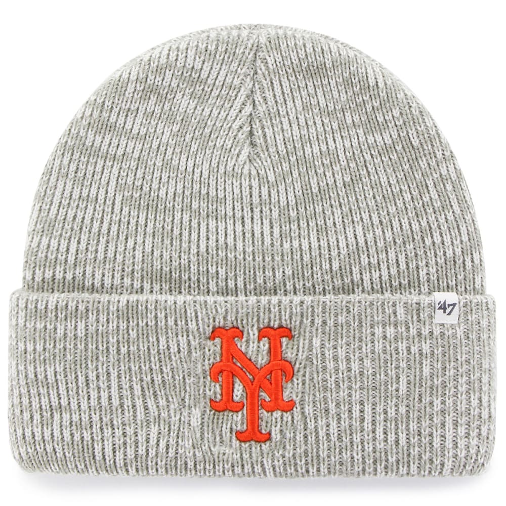 NEW YORK METS '47 Brain Freeze Cuff Knit Beanie - GREY