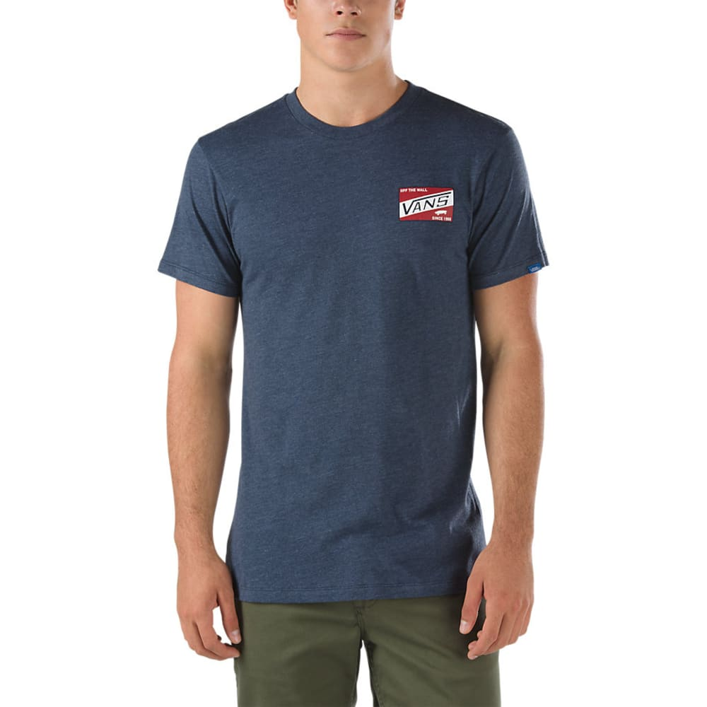 VANS Guys' Coffman Tee - HEATHER NAVY-E5Z