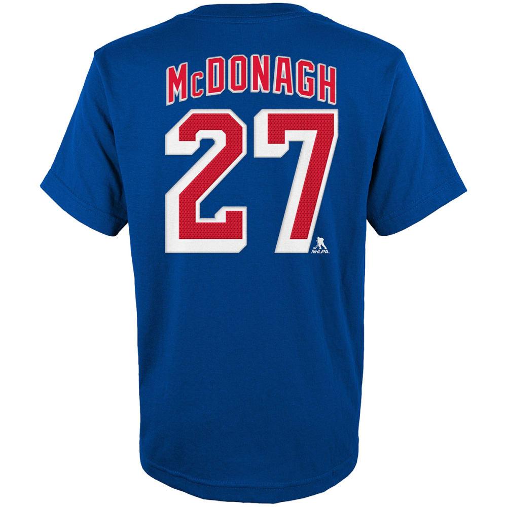 NEW YORK RANGERS Boys' Ryan McDonagh #27 Name and Number Tee - ROYAL BLUE