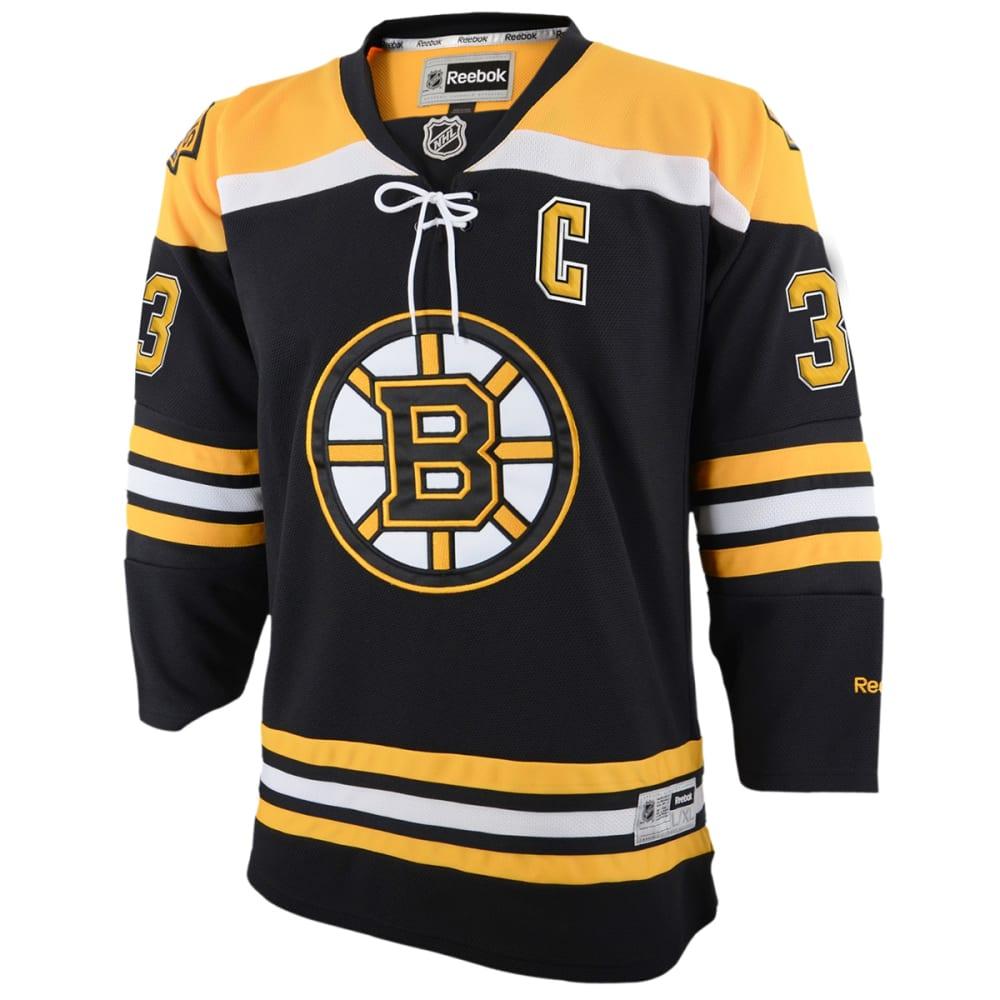 BOSTON BRUINS Boys' Chara #33 Home Premier Jersey - BLACK