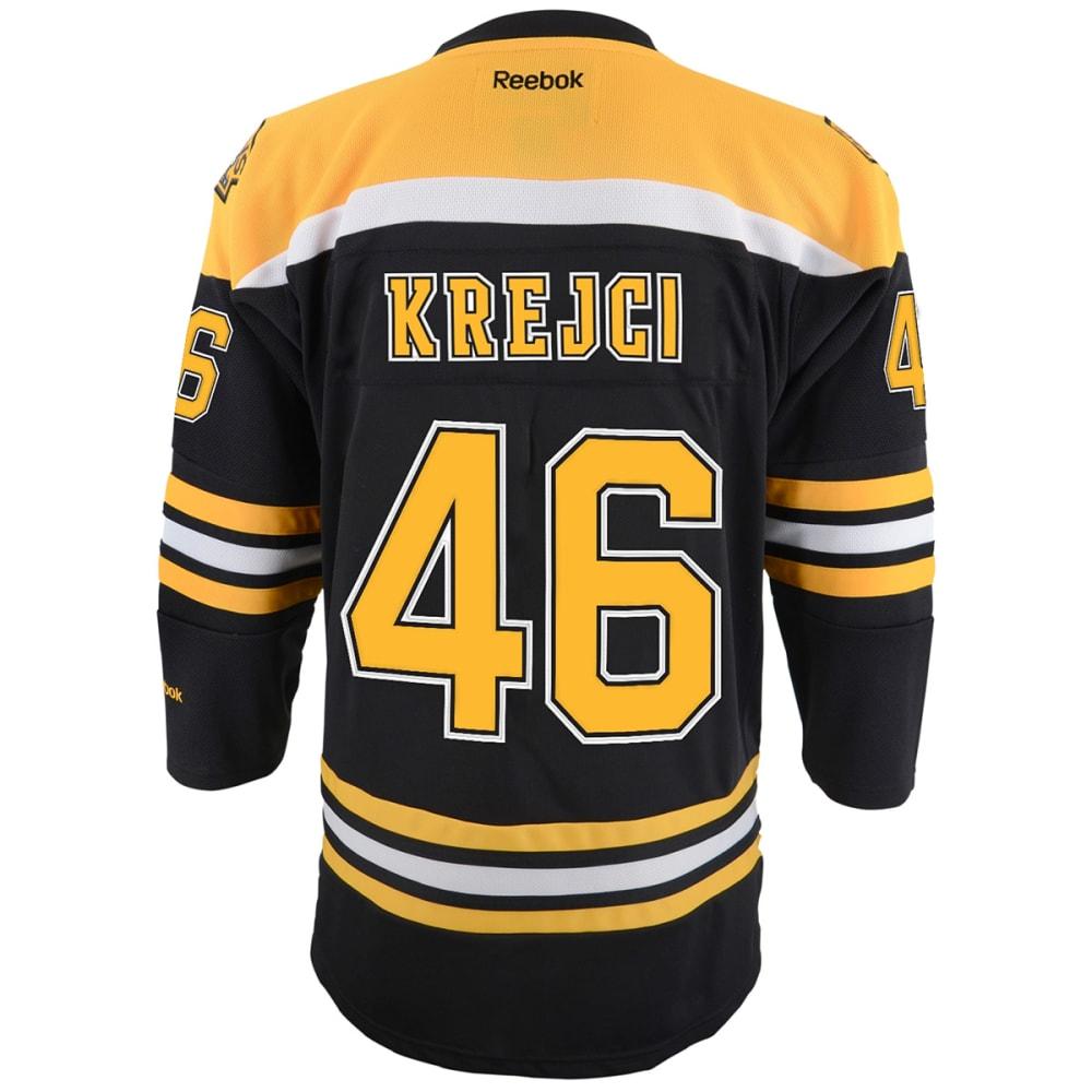 BOSTON BRUINS Boys' Krejci #46 Home Premier Jersey - BLACK