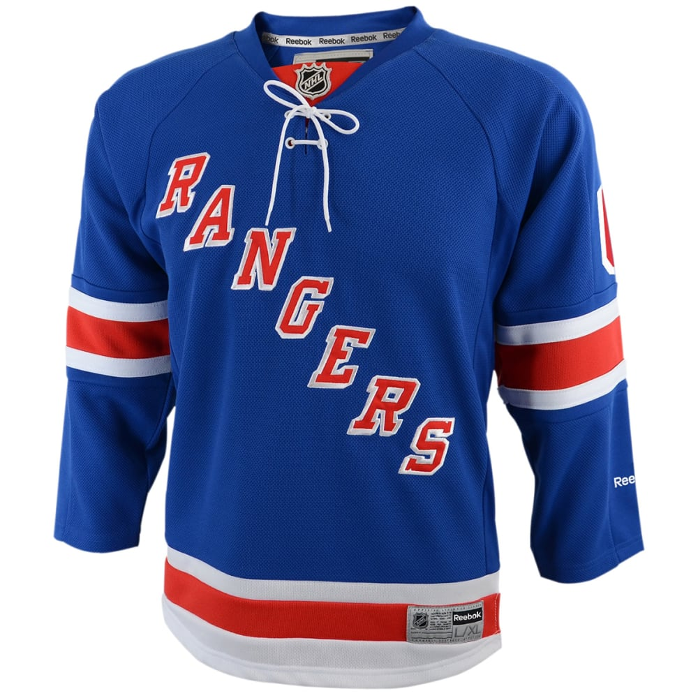 NEW YORK RANGERS Boys' Nash #61 Home Premier Jersey - ROYAL BLUE