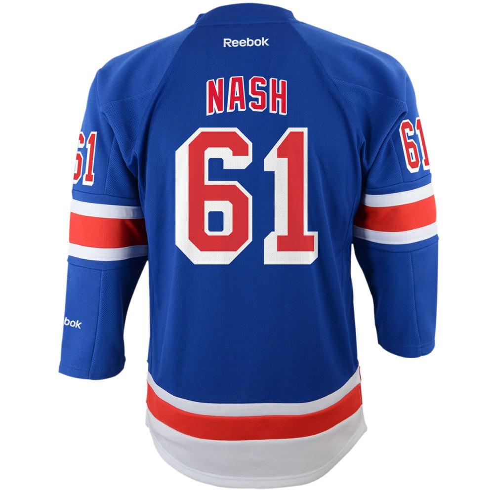 NEW YORK RANGERS Boys' Nash #61 Home Premier Jersey S/M