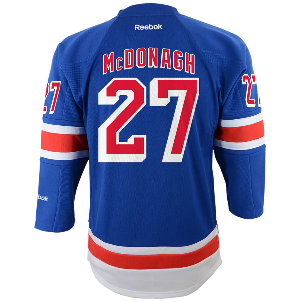 NEW YORK RANGERS Boys' McDonagh #27 Home Premier Jersey - ROYAL BLUE