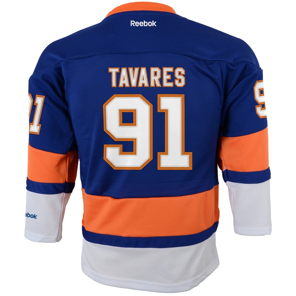 NEW YORK ISLANDERS Boys' Tavares #91 Home Premier Jersey - ROYAL BLUE