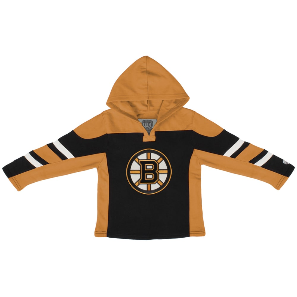 BOSTON BRUINS Boys' Drift Pullover Hoodie - BLACK